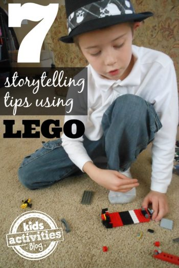 7 Lego Storytelling ideas -- I love how simple they are