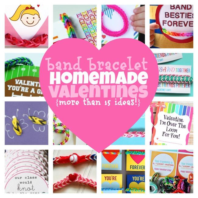 Band Bracelet Homemade Valentines - Kids Activities Blog