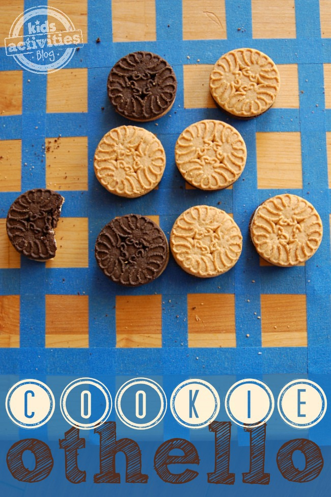 Homemade Game for Kids - Cookie Othello - Kids Activities Blog