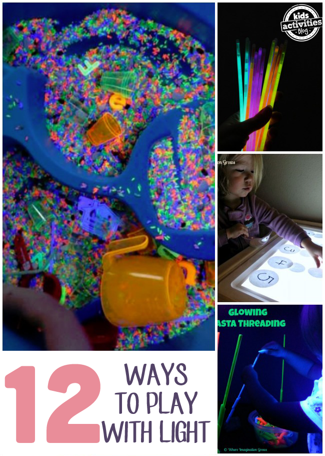 12 Fun Light Play Activities
