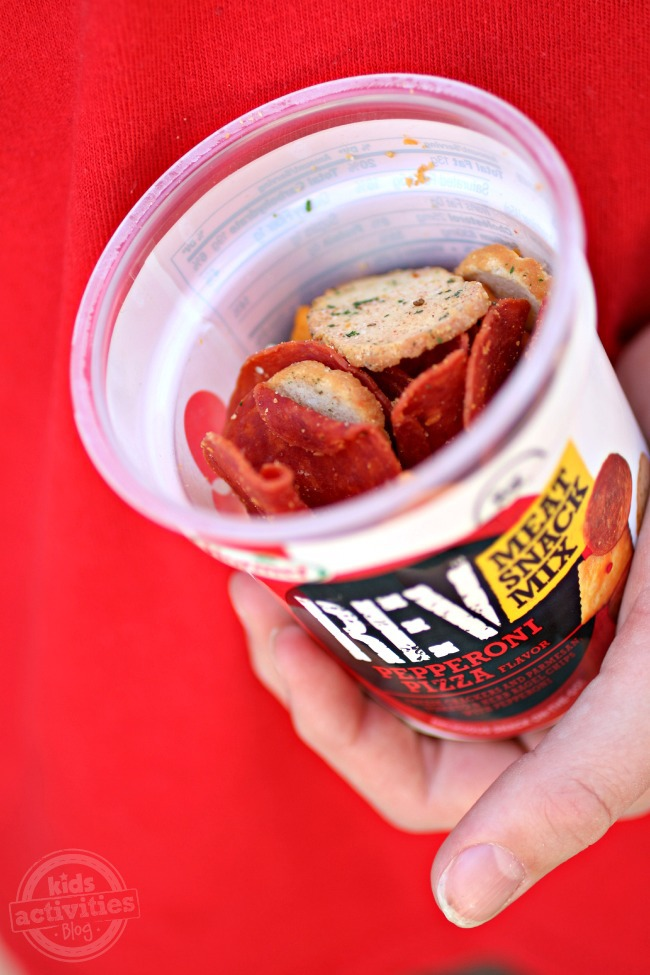 REV Meat Snack Mix - Pepperoni Pizza - Kids Activities Blog