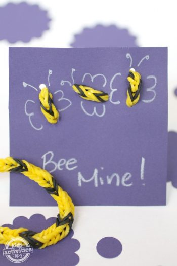 band bracelet valentine - Kids Activities Blog