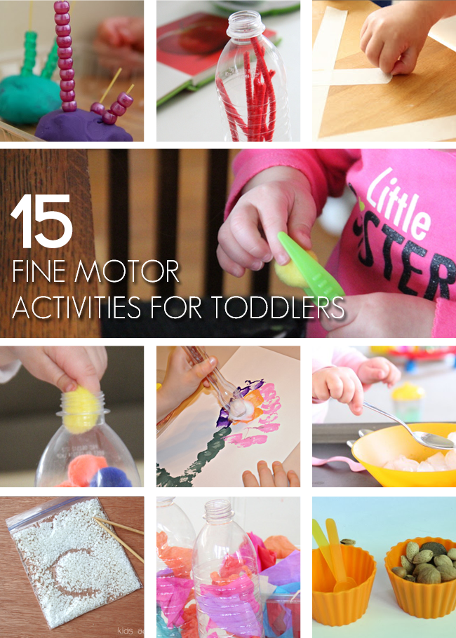 15 fun fine motor activities for toddlers