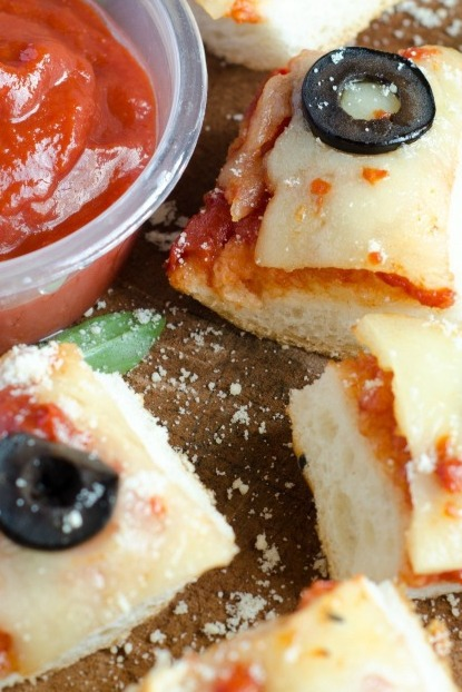 French Bread Pizza Bites --- Simple and Fun!