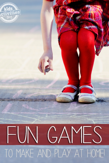12 Fun Games to Make and Play At Home