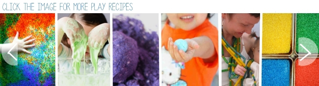 sensory recipies