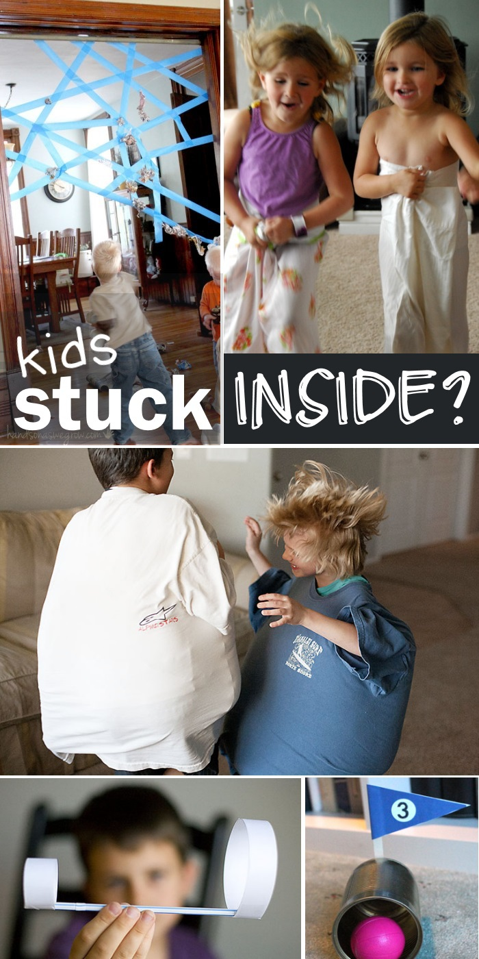 stuck inside games for kids