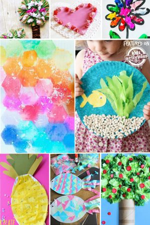 tissue paper crafts