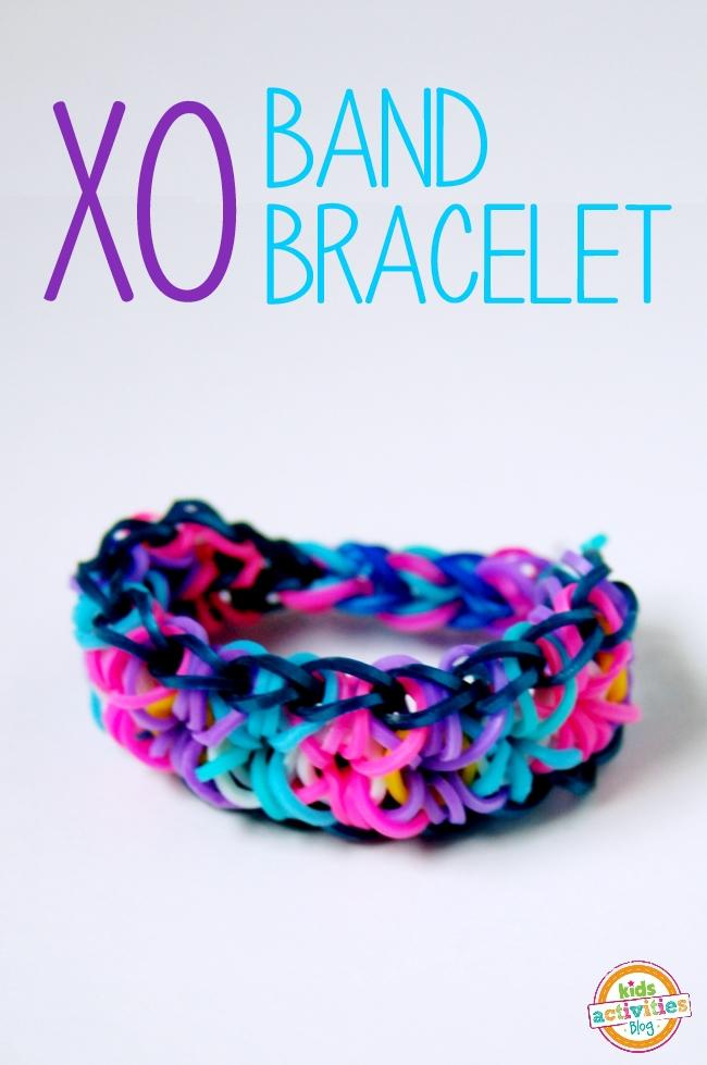 band bracelet tutorial