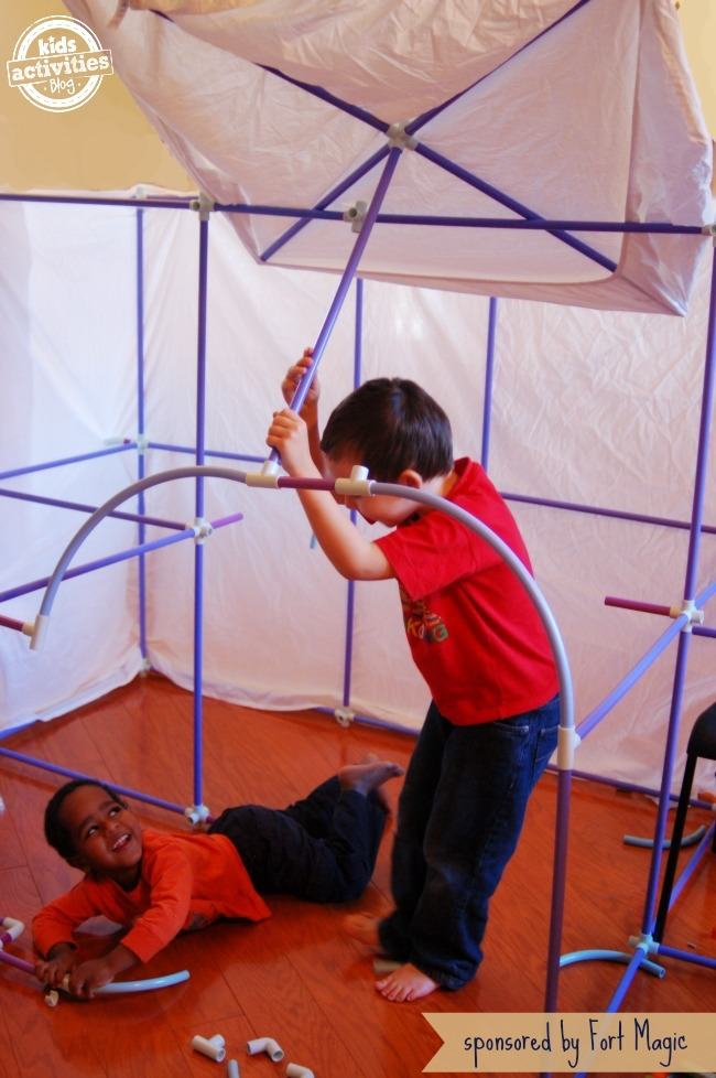 Building Fort Magic Kit - Kids Activities Blog