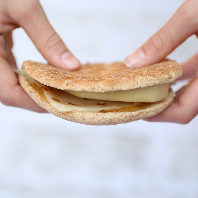 Cheese and Pear Sandwich - Kids Activities Blog