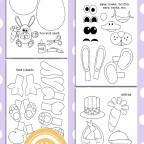Easter Egg Coloring Pages for Kids - feature
