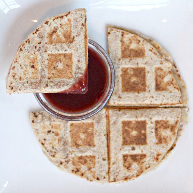 Grilled Cheese Sandwich with Blueberry Dip - Kids Activities Blog