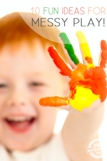 10 Fun Ideas for Messy Play