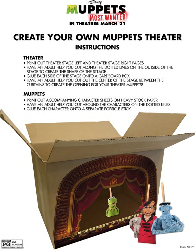 Muppet Puppet Theater - Kids Activities Blog