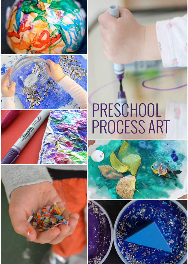 11 Process Art Projects for Preschoolers and Toddlers