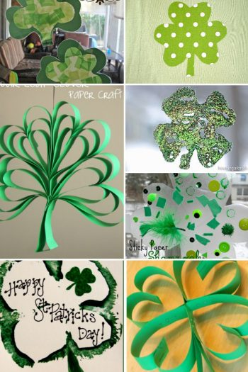 17 Shamrock Crafts for Kids