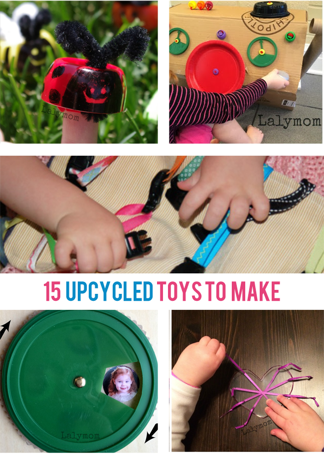 15 Upcycled Toys to Make at Home