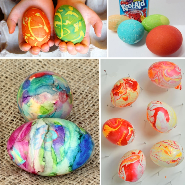 fun ways to dye eggs