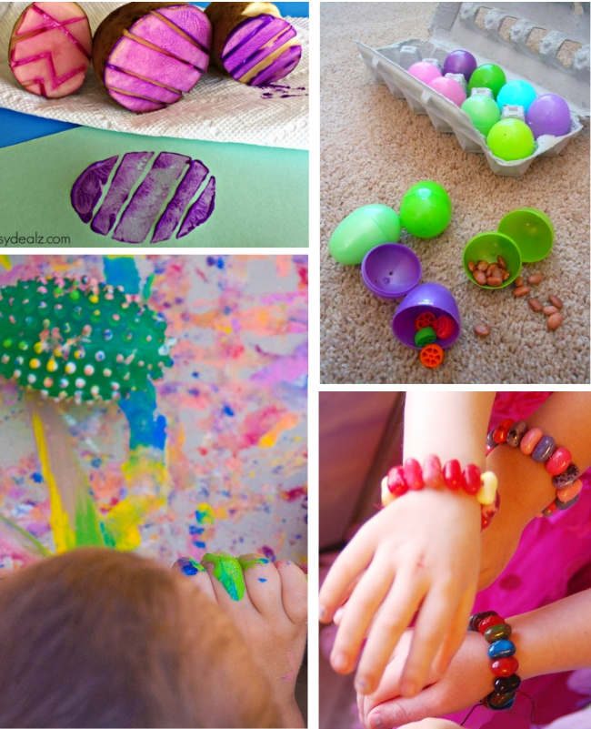 easter egg crafts and activities
