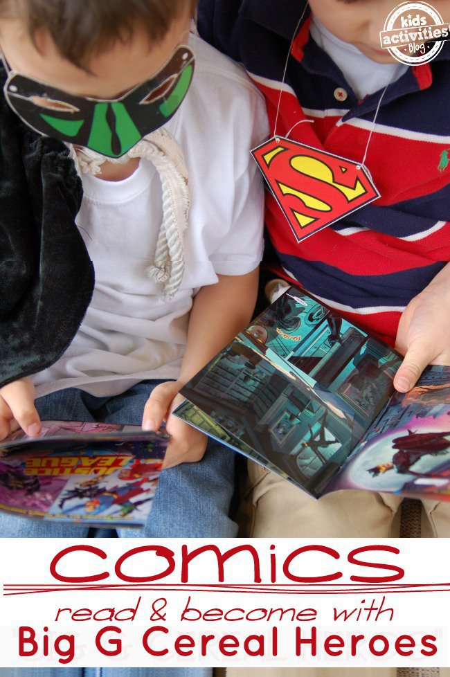 free comics for kids to promote literacy - Kids Activities Blog