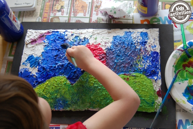 How to paint like impressionist