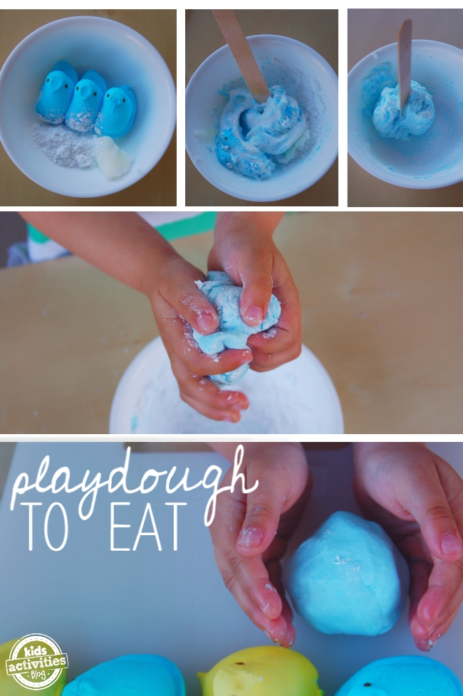 Easter Candy Play Dough