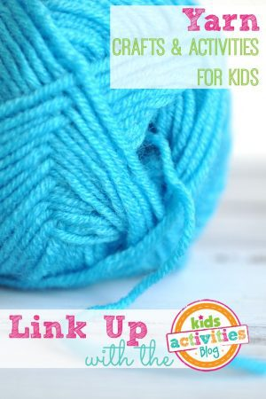 Yarn Crafts and Activities For Kids