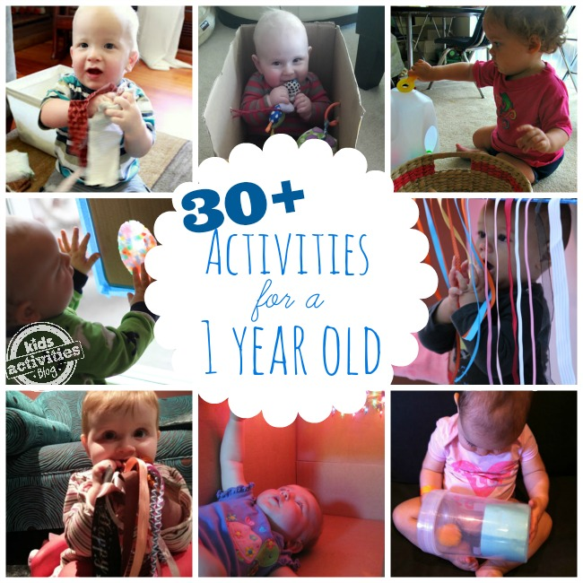 1 year old activities