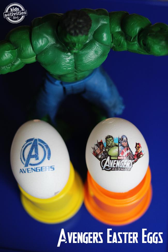 Super Cool Avengers Easter Eggs