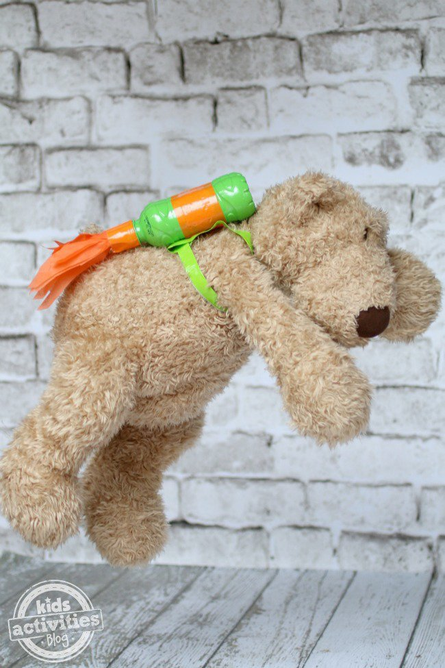 Bear flying through space - Kids Activities Blog