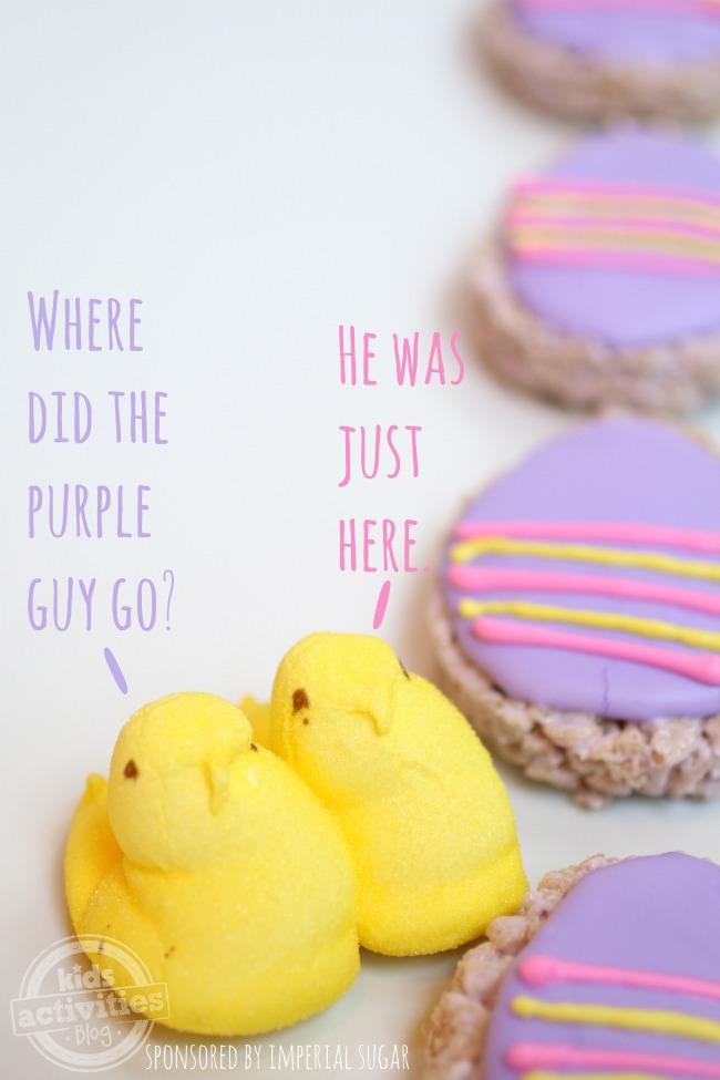 Riz Krispie Easter Egg Treats - Blog d'activités pour les enfants