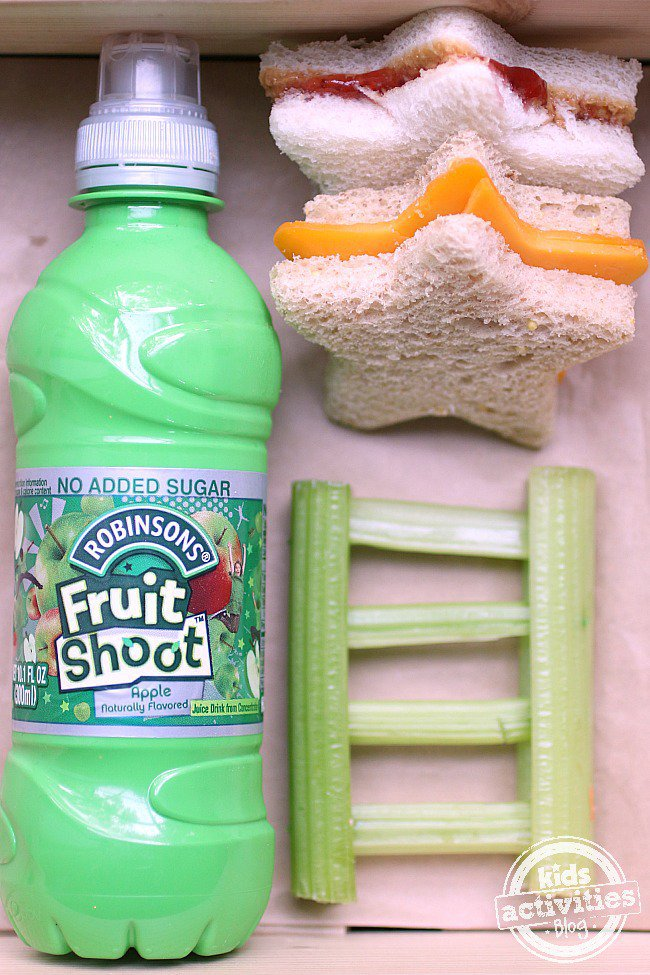 Fruit Shoot Lunch - ladder to the stars