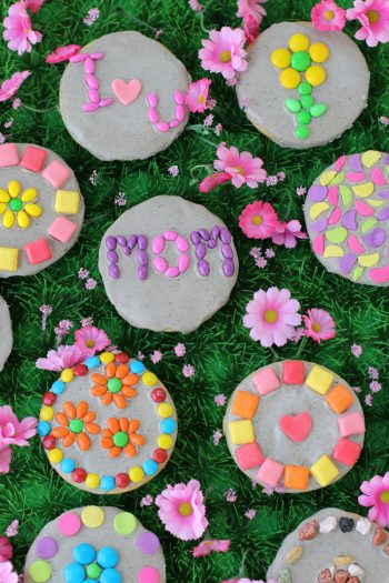 Mother's Day Garden Stone Cookies