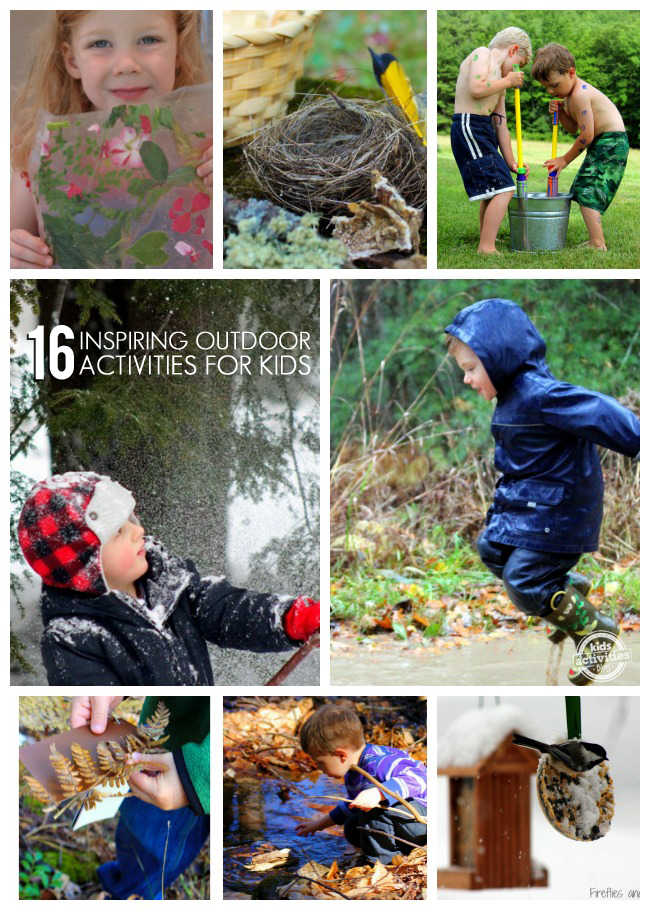 16 Inspiring Outdoor Activities for Kids