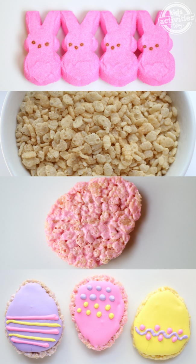 Rice Krispie Easter Egg Treats