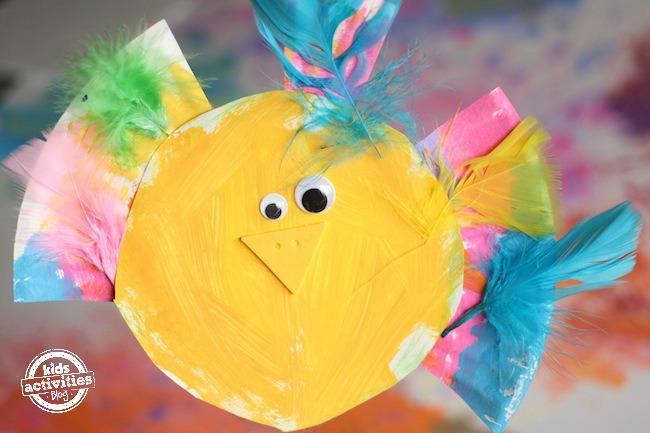 adorable  paper plate bird craft