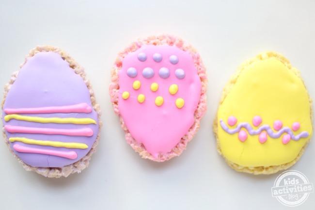 Rice Krispie Easter Egg Treats - Kids Activities Blog
