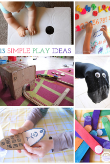 13 {Simple} Kids Play Ideas