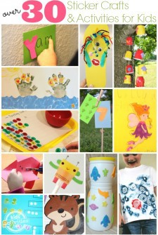 30+ Sticker Crafts And Activities For Kids