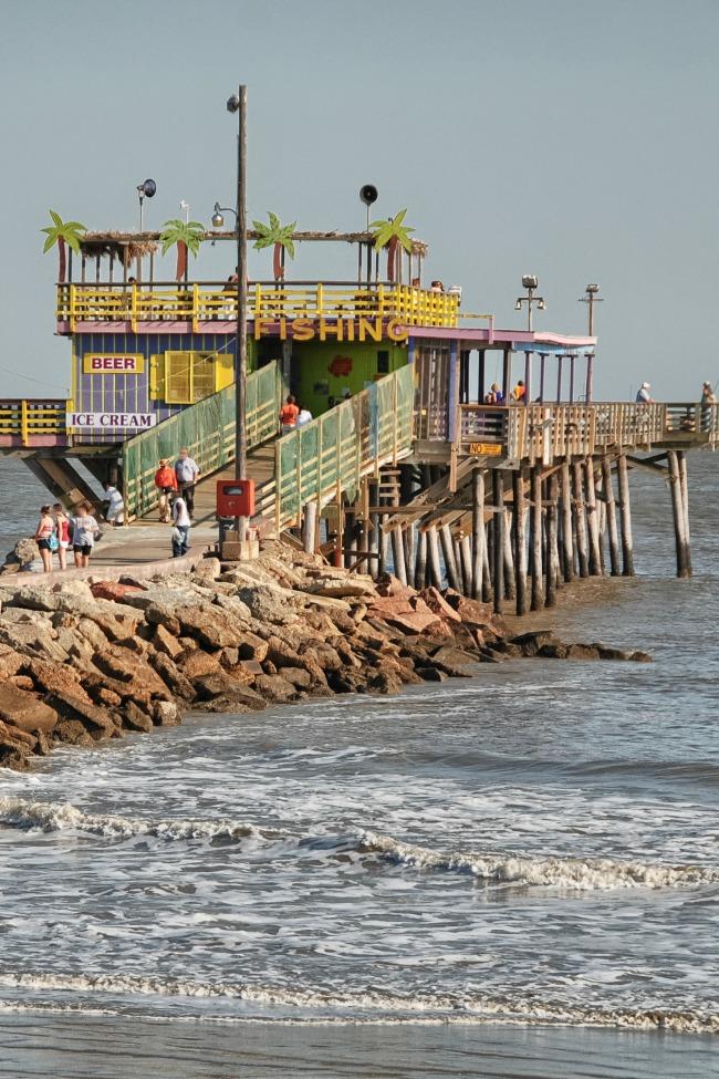Galveston tx for Galveston fishing pier cam