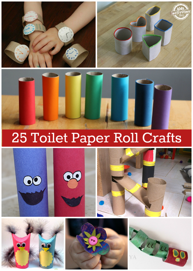 25 incredible toilet paper roll crafts On crafts to do with toilet paper rolls