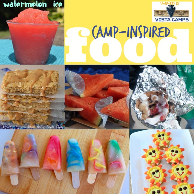 camp-inspired food - Kids Activities Blog