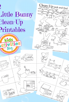 {Clean-Up Time} Free Kids Printables