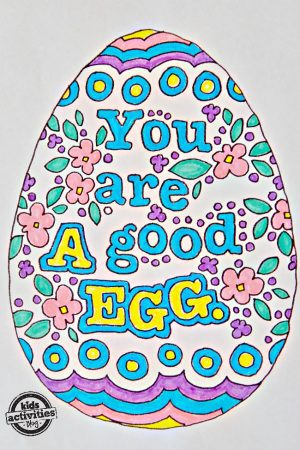 free printable download easter egg idioms