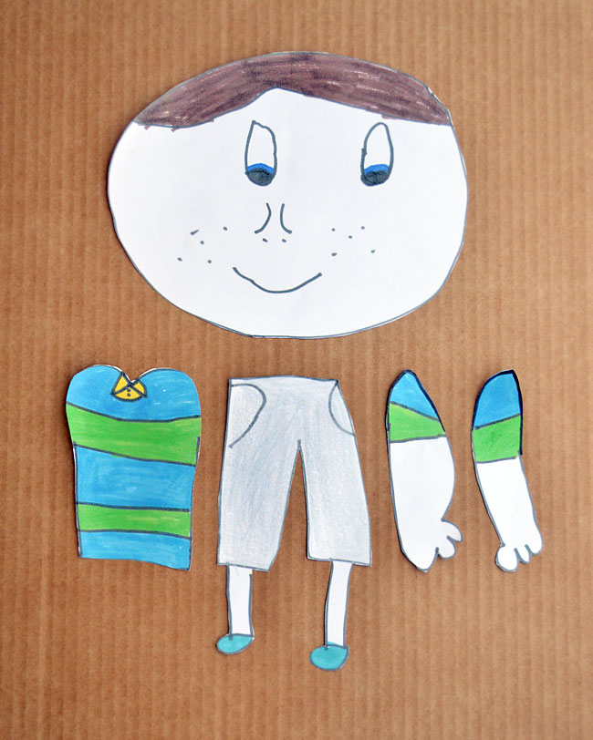kid-made puppets by Michelle McInerney of MollyMooCrafts.com