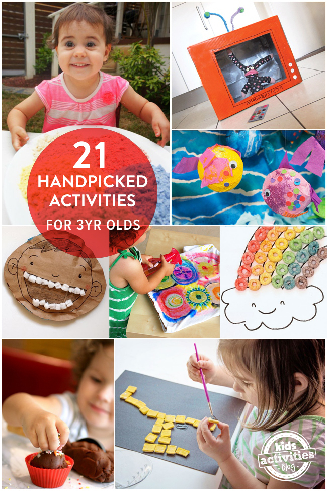 21 Handpicked Fun Activities For 3 Year Olds