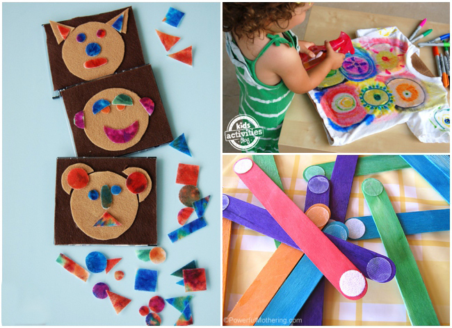 21 activities for 3 year olds on Kids Activities Blog