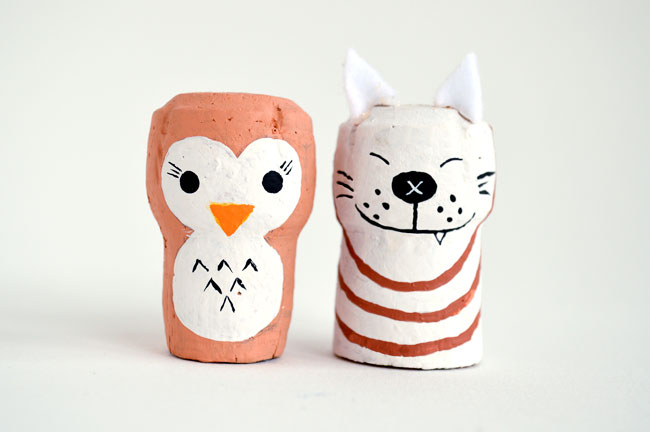 wine cork crafts for storytelling by Michelle McInerney of mollymoocrafts for KidsActivitiesBlog