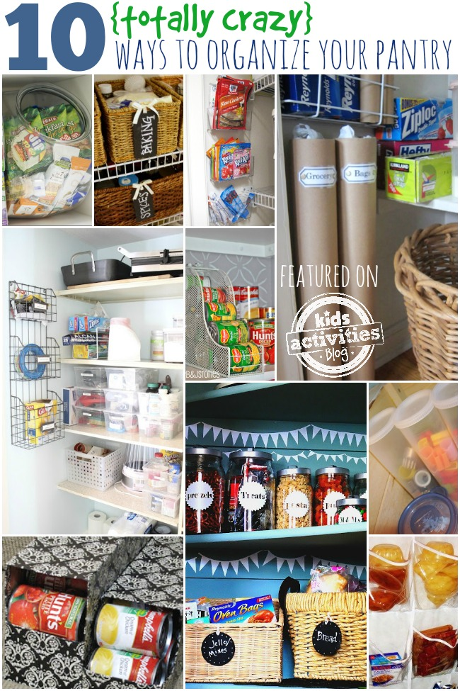 10 totally crazy ways to organize your pantry